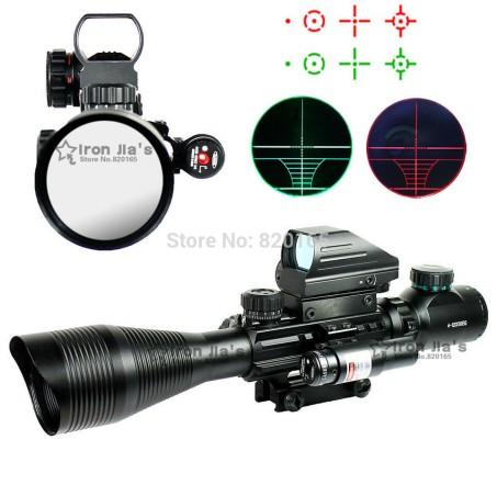 holographic rifle scope